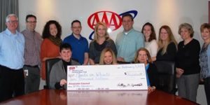 AAA Western and Central New York Donates $10,000