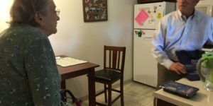 Congressman Collins delivers with Meals on Wheels in Clarence