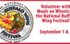 Volunteer with Meals on Wheels at the National Buffalo Wing Festival!