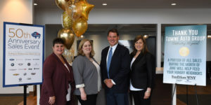 Towne Automotive Group celebrates 50th anniversary with promotion benefiting FeedMore WNY