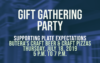 Gift Gathering Party at Butera's | Thursday, July 18, 2019