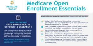 Medicare Open Enrollment Ends December 7, 2019